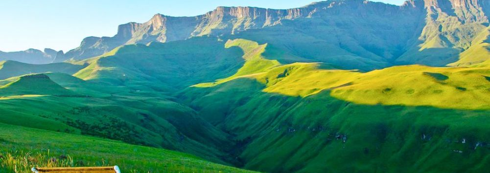 Mountainous Drakensberg, don't you want to be here?