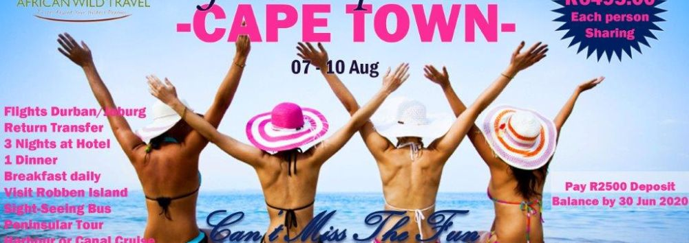 2020 Cape Town Girls Trip - Never Miss the Fun
