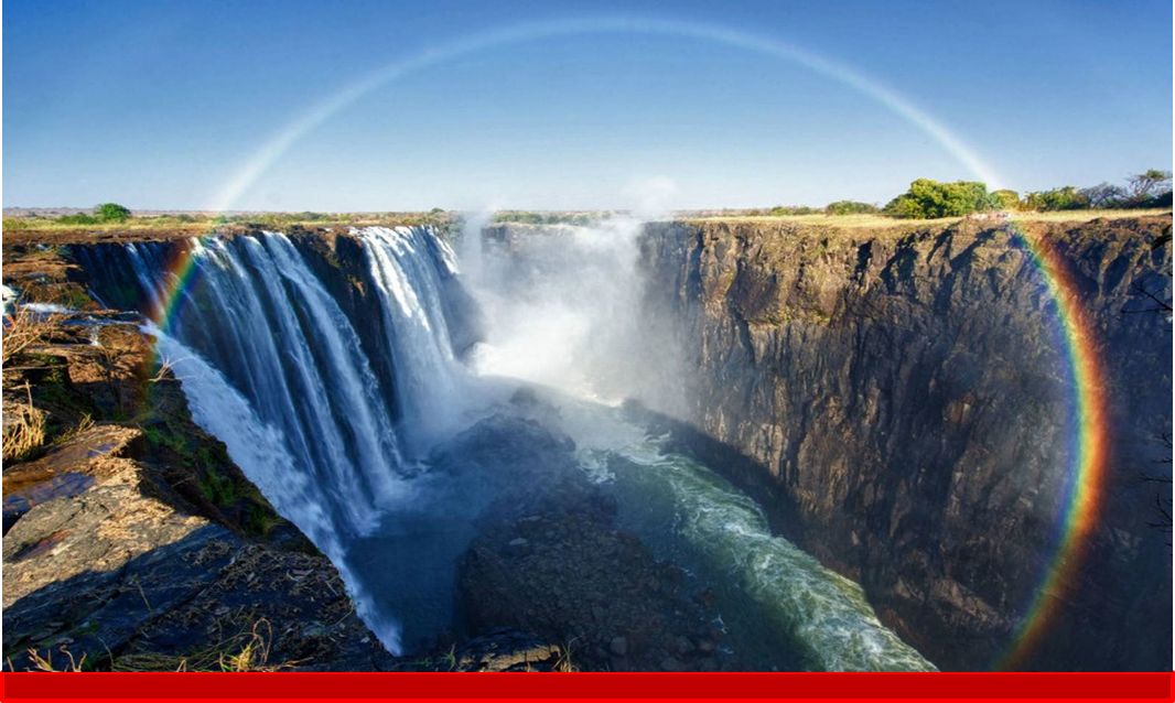Vic falls welcome